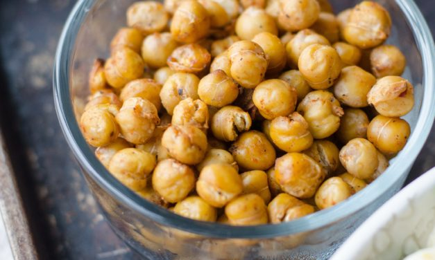 Curried Chickpea Apple Salad with Feta & Greens